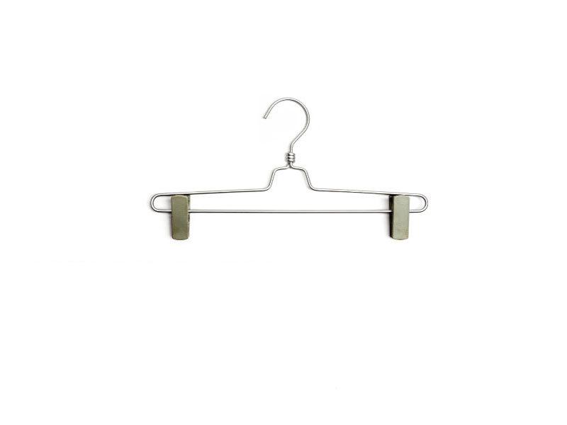 Плечики для брюк type 9N с прищепками (хром)