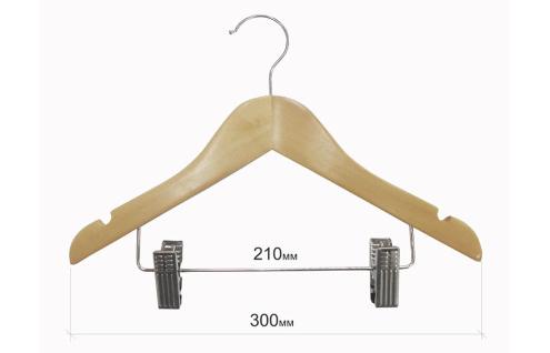 Плечики для одежды детские type Ch с прищепками