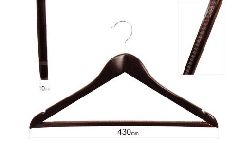 Плечики для одежды type 1ВМ (махонь) с резиновой дорожкой