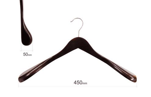 Плечики для одежды type 2ВМ (махонь) с широкими плечиками без перекладины