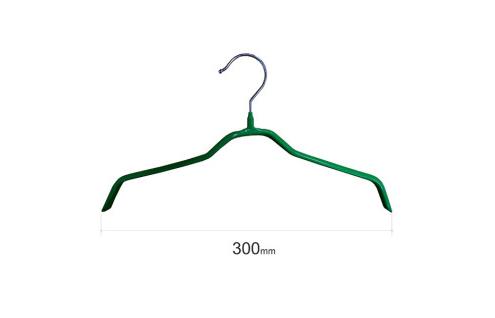 Плечики для одежды type 6 метал. 30см (зеленая)
