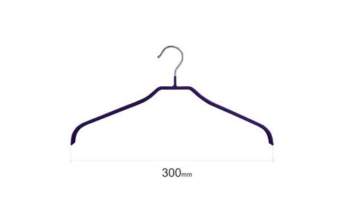 Плечики для одежды type 6 метал. 30см (синяя)