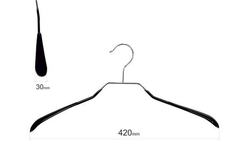 Плечики для одежды type 6А метал. 42см (черная)