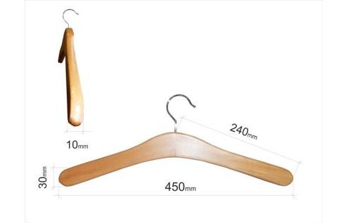 Плечики для одежды type 9 (тонкая, БУК)