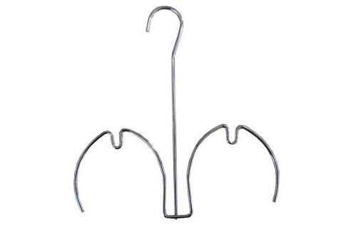 Вешалка для шлепанцев хром