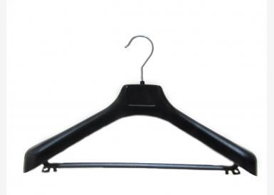 Вешалка профильная широкая с перемычкой 55 мм